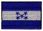 Honduras Embroidered Flag Patch, style small (discontinued).